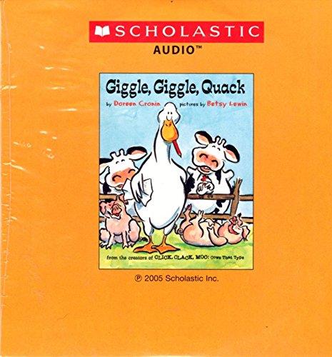 Giggle, Giggle, Quack (043980681X) by Doreen Cronin