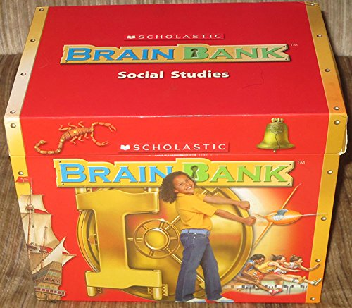 9780439813693: Scholastic Brain Bank: Grade 5, Social Studies, Box 2 [Boxed Set]