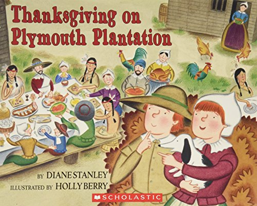 9780439814249: Thanksgiving on Plymouth Plantation (The Time-Traveling Twins)