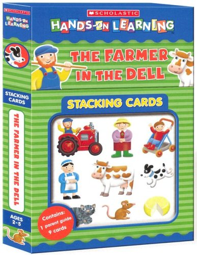 9780439814461: Farmer In The Dell (Scholastic Hands-on Learning Stacking Ca)