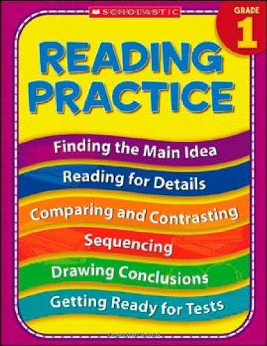 9780439819008: 1st Grade Reading Practice (Practice (Scholastic))