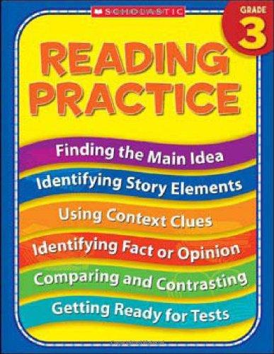 9780439819022: 3rd Grade Reading Practice (Practice (Scholastic))