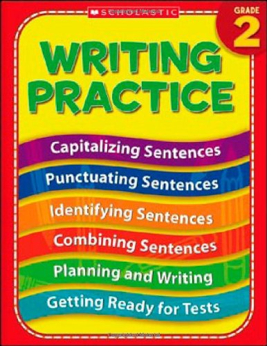9780439819114: Writing Practice, Grade 2