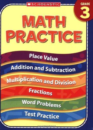 9780439819176: 3rd Grade Math Practice (Practice (Scholastic))