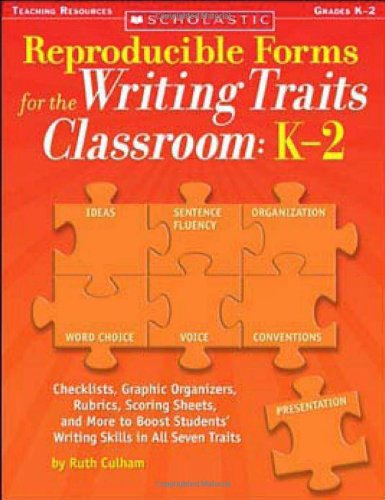 9780439821339: Reproducible Forms for the Writing Traits Classroom: K-2