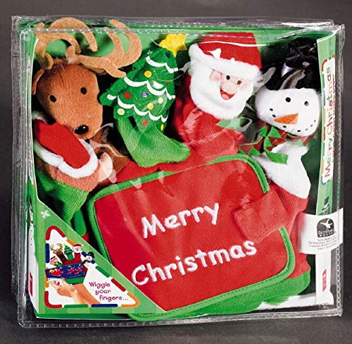 9780439823562: Hand-Puppet Board Books: Merry Christmas: A Hand-puppet Board Book