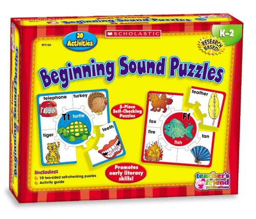 9780439823876: Hands-On Learning: Beginning Sound Puzzles (Scholastic Hands-On Learning)