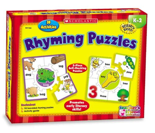 9780439823906: Hands-On Learning: Rhyming Puzzles (Scholastic Hands-On Learning)