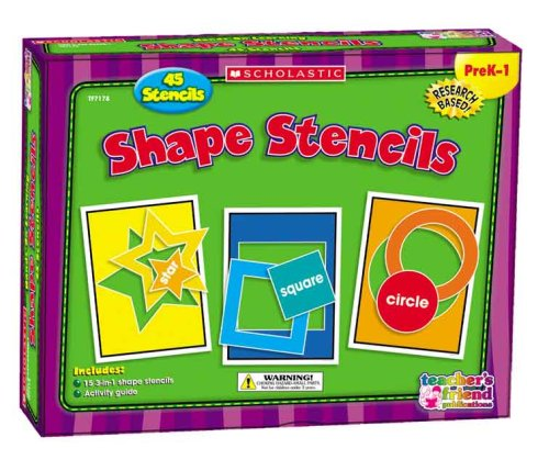 9780439823951: Shape Stencils (Scholastic Hands-On Learning)