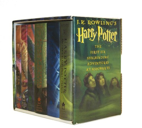 9780439827607: Harry Potter Hardcover Box Set (Books 1-6)