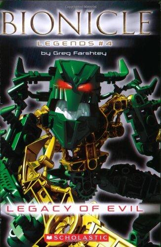 9780439828079: Legacy of Evil (Bionicle Legends)