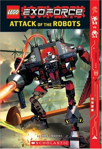 9780439828093: Exo-force: Attack Of The Robots (Lego)