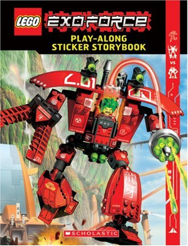 9780439828109: Exo-force Sticker Book (Lego)