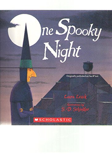 9780439828376: One Spooky Night (Originally published as One Witch)