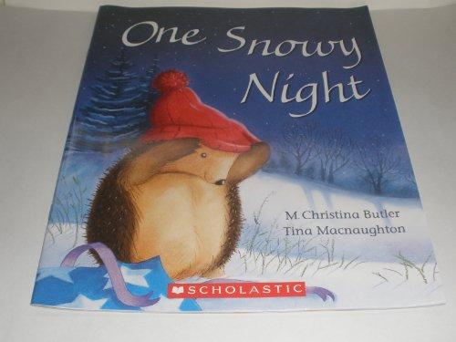 One Snowy Night: Butler, M. Christina