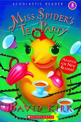 9780439833059: Miss Spider's Tea Party (Scholastic Reader Level 2)