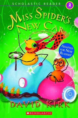 9780439833066: Scholastic Reader Level 2: Miss Spider's New Car