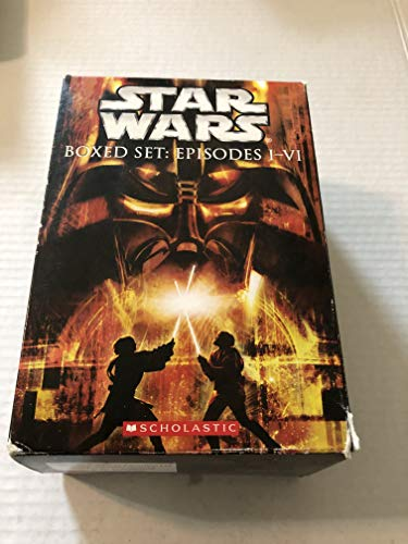 Star Wars Boxed Set: Episodes I-VI: Various; Scholastic, Inc