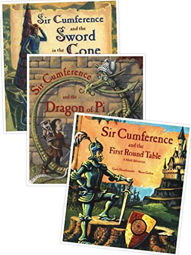 9780439834964: Sir Cumference Pack (Sir Cumference and the Dragon of Pi; Sir Cumference and the First Round Table; Sir Cumference and the Sword in the Cone)
