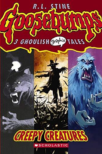 9780439841252: Creepy Creatures (Goosebumps Graphix)