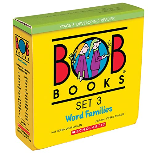 9780439845090: Bob Books Set 3- Word Families