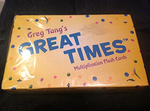 9780439849661: Great Times Multiplication Flash Cards