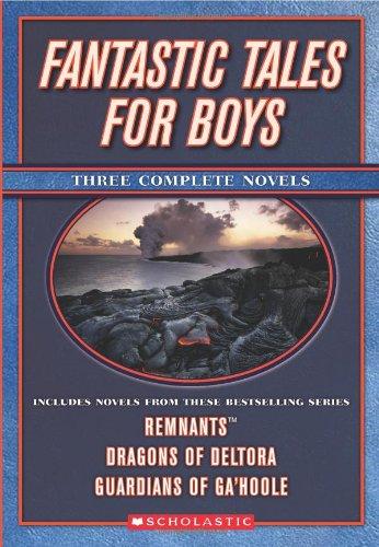 9780439858625: Fantastic Tales for Boys: Three Complete Novels (Apple (Scholastic))