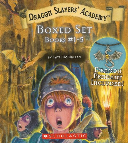 Dragon Slayer's Academy Boxed Set # 1-: Kate McMullan