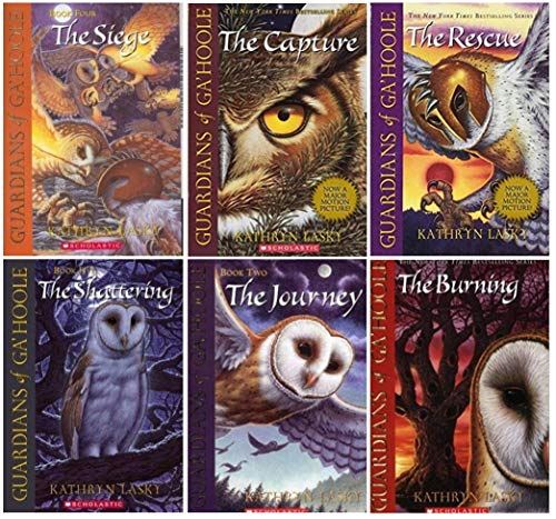Guardians of Ga'hoole Boxed Set, Books 1 - 6: The Capture / The Journey / The Rescue...