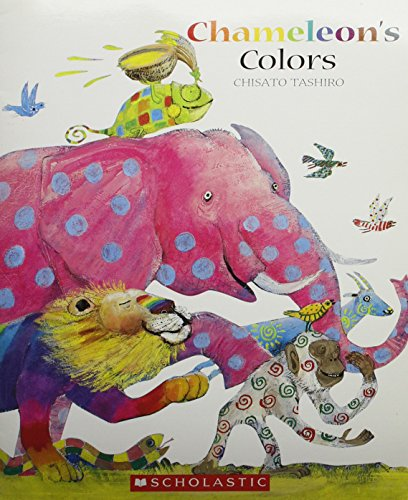 9780439860802: Chameleon's Colors