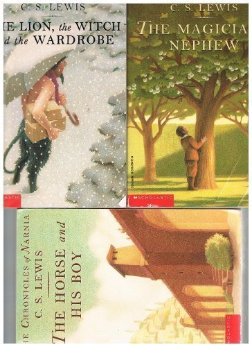 9780439861373: The Chronicles of Narnia Set (Books 1-3) #1 The Magician's Nephew, #2 The Lion, The Witch and the Wa