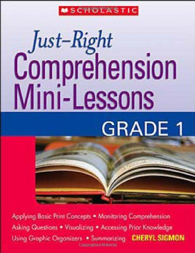 9780439870252: Just-Right Comprehension Mini-Lessons: Grade 1 (Teaching Resources)