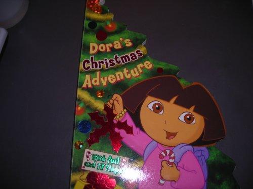 9780439870344: Dora's Christmas Adventure (With Foil and 17 Flaps!) (Nick Jr. Dora the Explorer)