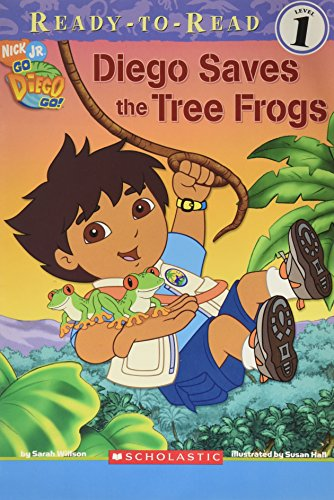 9780439870580: Diego Saves the Tree Frogs (Ready-To-Read, Level 1)