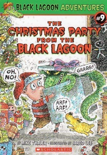 9780439871600: The Christmas Party from the Black Lagoon (Black Lagoon Adventures, No. 9)