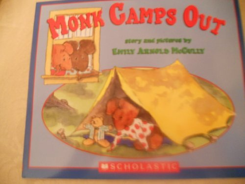9780439871853: Monk Camps Out