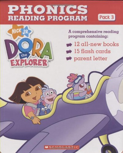9780439872027: Dora the Explorer Phonics Boxed Set #3