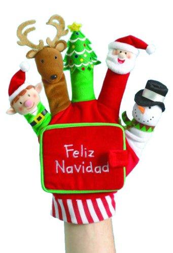 9780439874892: Feliz Navidad: Un Libro de Carton Con Titeres [With Finger Puppets]