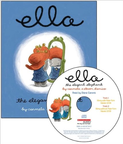 9780439875950: Ella The Elegant Elephant Read Along Library (Book/AudioCD)