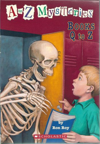 9780439877848: A to Z Mysteries Boxed Set, Books Q-Z: Quicksand Question, Runaway Racehorse, School Skeleton, Talking T. Rex, Unwilling Umpire, Vampire's Vacation, White Wolf, X'ed-Out X-Ray, Yellow Yacht, Zombie Zo