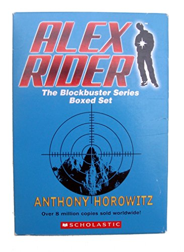 9780439880527: Alex Rider: The Blockbuster Series Boxed Set (Stormbreaker, Point Blank, Skeleton Key, Eagle Strike, Scorpia) (1 to 5)