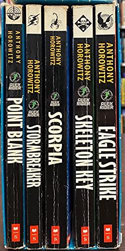 9780439880527: Alex Rider: The Blockbuster Series Boxed Set (Stormbreaker, Point Blank, Skeleton Key, Eagle Strike, Scorpia) (1 to 5)