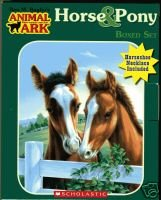 Horse & Pony set (Racehorse in the