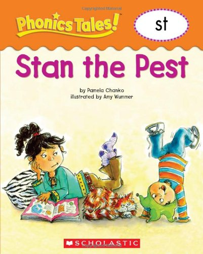 'STAN THE PEST (PHONICS TALES, ST)' (0439884659) by PAMELA CHANKO
