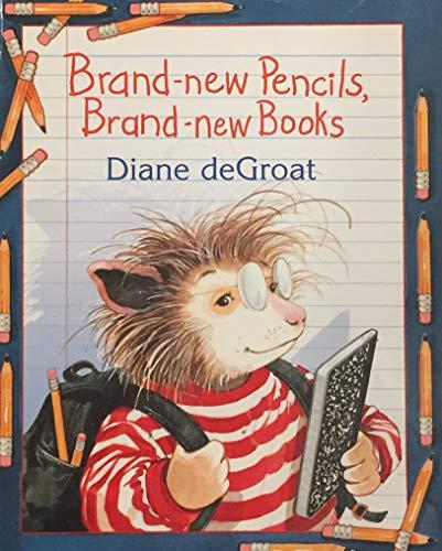 9780439886369: Brand-new Pencils, Brand-new Books
