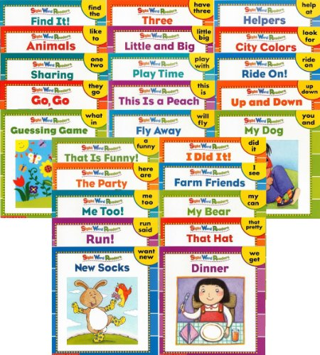 9780439887465: 25 NEW Illustrated Sight Word Readers Phonics Teaching Supples Prek Scholastic 25 Books That Teach 50 Must-know Sight Words!! (Sight Word Readers)