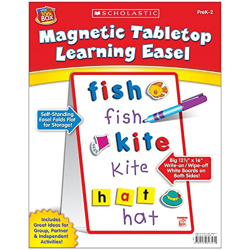 9780439893572: Magnetic Tabletop Learning Easel