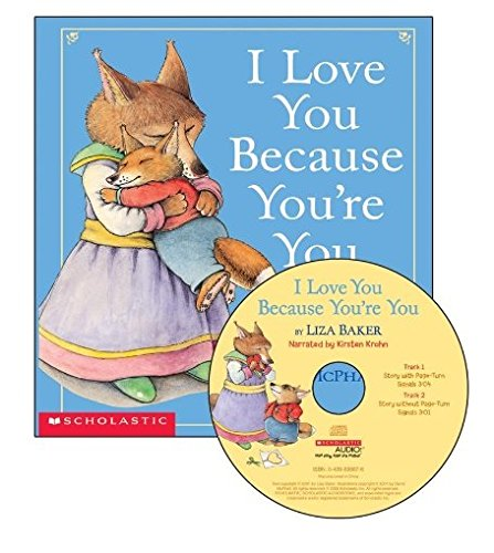 9780439895583: I Love You Because You're You - Audio [Paperback with CD]
