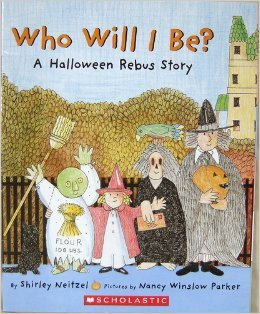 9780439899130: Who Will I Be? : A Halloween Rebus Story