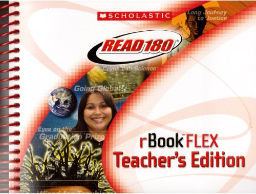 9780439902489: Read 180 rBook FLEX Teacher's Edition